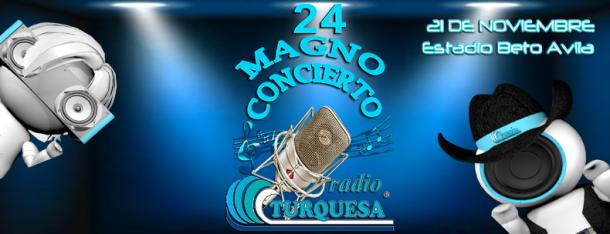Magno Concierto 24 de Radio Turquesa