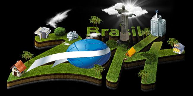 Brasil 2014 en Numeros