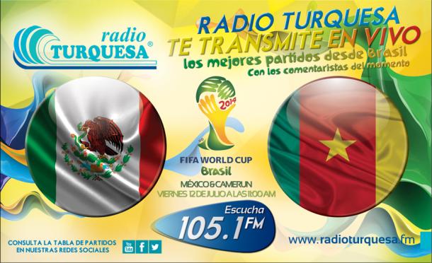 Mexico Camerun Radio Turquesa