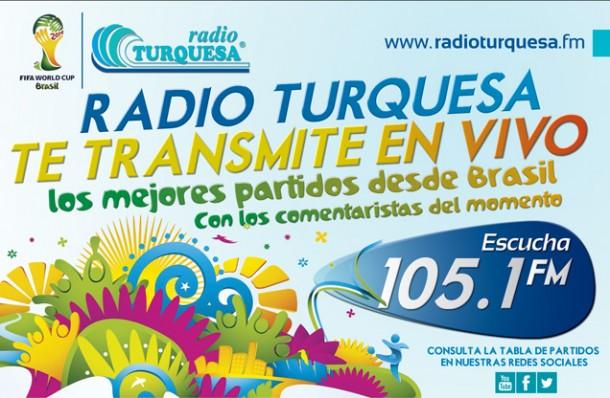 Partidos del Mundial - Radio Turquesa