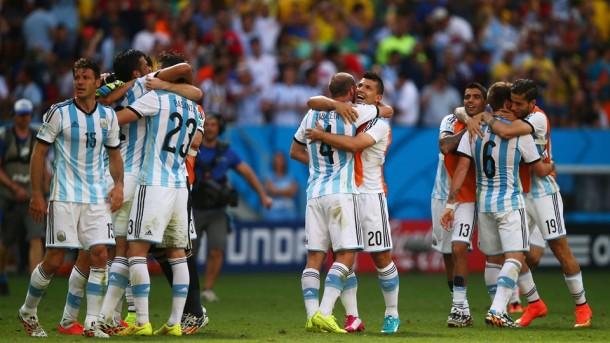 Argentina 1 - 0 Belgica