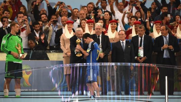 Messi balon de Oro 2014