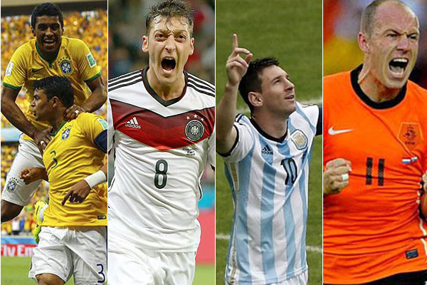Brasil vs Alemania escuchar por radio