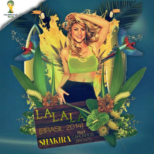 Shakira en la final de Brasil 2014