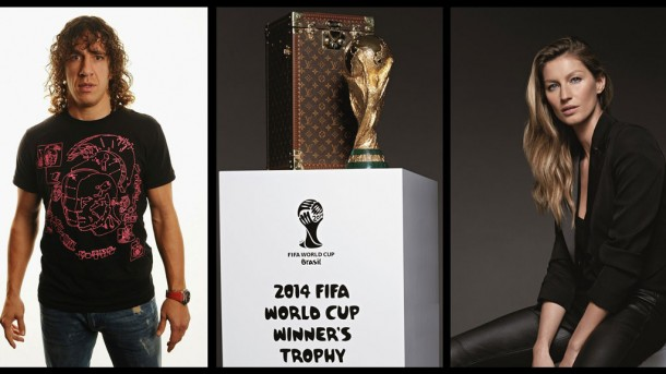 Carles Puyol y Gisele Bündchen entregarán el Trofeo