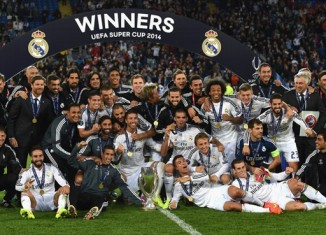 Real Madrid SuperCopa UEFA