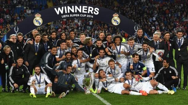 Real Madrid SuperCopa UEFA
