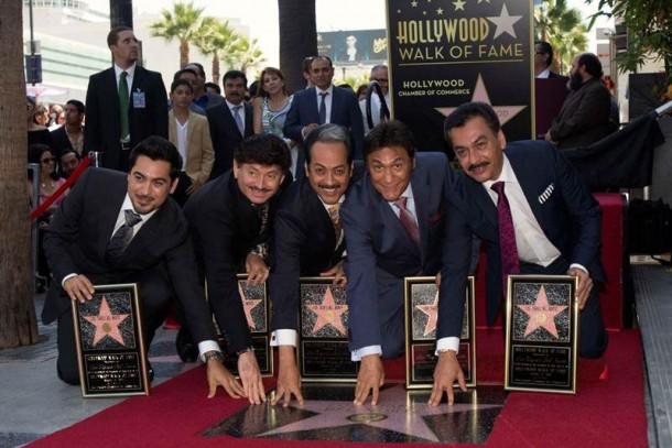 Estrella en Hollywood de los Tigres del Norte