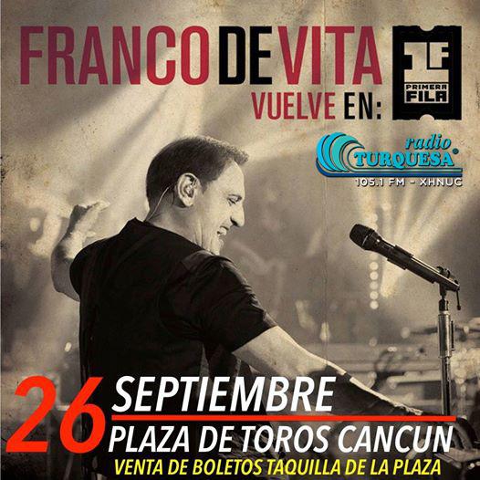 Franco de Vita en Concierto en Cancun