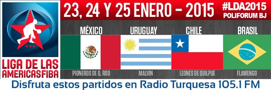 Escuchar Partidos FIBA 2015 Cancun