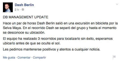 Dash Berlin desaparecido en Tulum Quintana Roo México