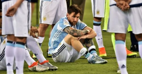 messi renuncia argentina