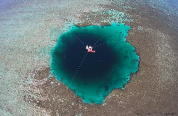 Agujero Azul Más profundo del Mundo