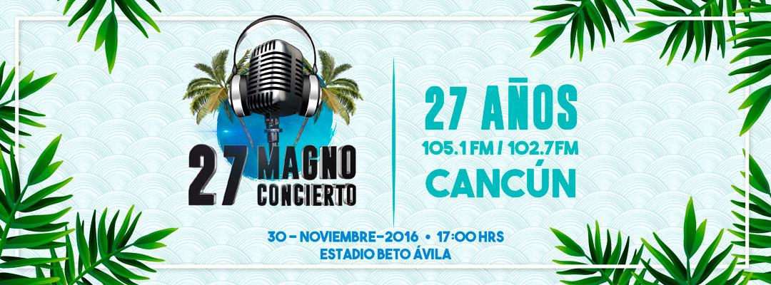 Magno Concierto 27 Radio Turquesa