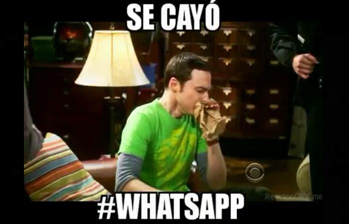 Caida De Whatsapp Picture: La Caída De Whatsapp Y Sus Memes