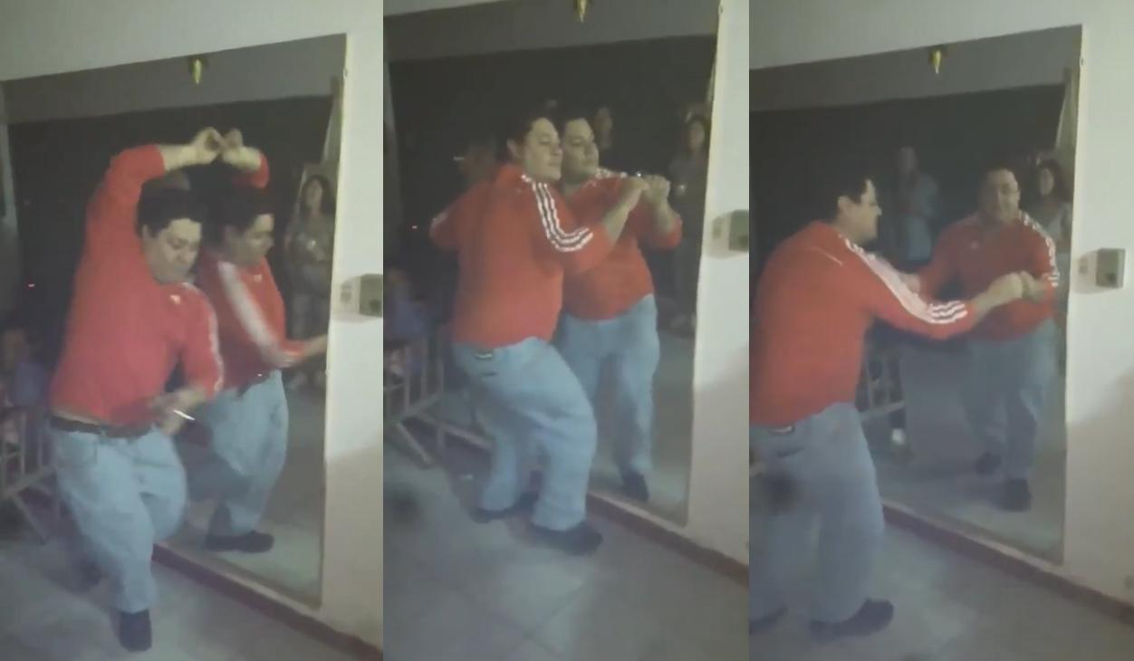 videoclip hombre bailando solo