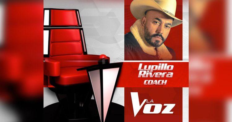 Lupillo Rivera La Voz México 2019