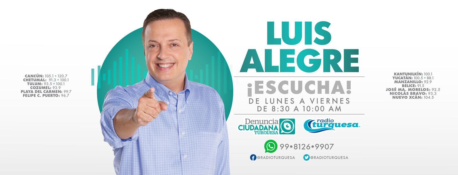 Luis Alegre Salazar Radio Turquesa